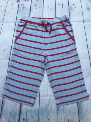 Mini Boden blue and red striped shorts age 8 (fits age 7-8)